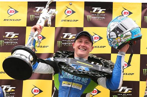 Historic Senior TT win for Harrison results in 2019 TT Manufacturer's Award