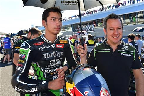 Toprak Razgatlioglu will step up to WorldSBK with Kawasaki Puccetti Racing in 2018
