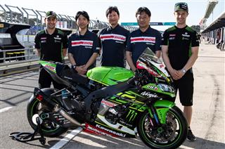 SHOWA becomes key Kawasaki Racing Team sponsor