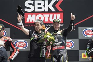 Record Equalling Double For Rea As Sykes Podiums