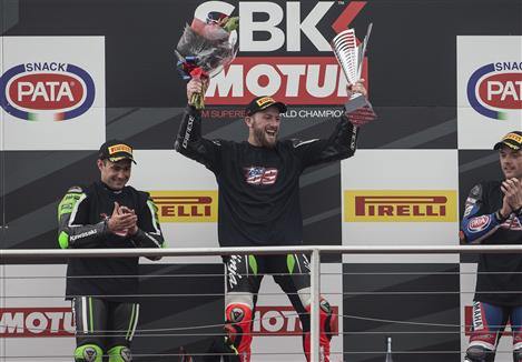 First Win Of The Year For Sykes