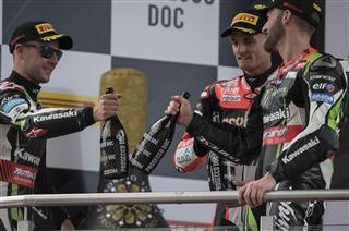 Podium Finishes For Rea And Sykes