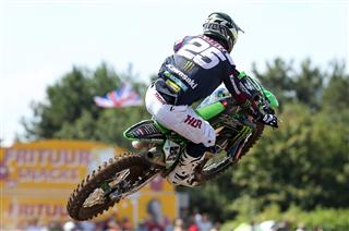 Clément Desalle leads Team Belgium at MX of Nations