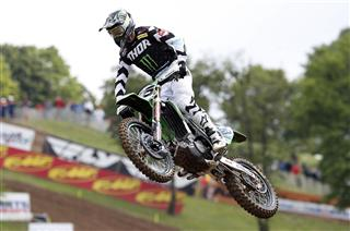 Clement Desalle qualifies third in France