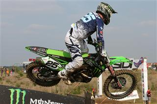 A splendid recovery by Clement Desalle in Germany