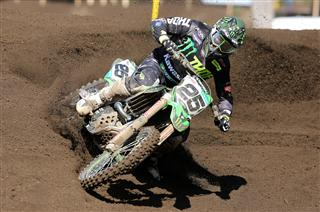 Clement Desalle third to the gate in Argentina