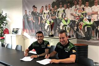 Hector Barbera Joins Kawasaki Puccetti Racing In WorldSSP