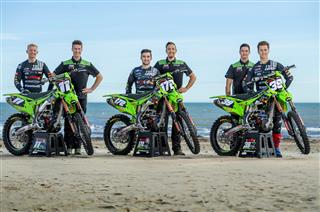 F&H Kawasaki MX2 Racing Team reveals its new 2020 line up