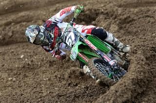 Darian Sanayei ninth in MX2 finale