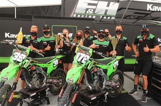 Double podium for F&H Kawasaki in Latvia