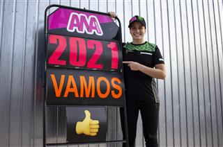Ana Carrasco confirmed as Provec and Kawasaki Rider for 2021 in WorldSSP300 Championship