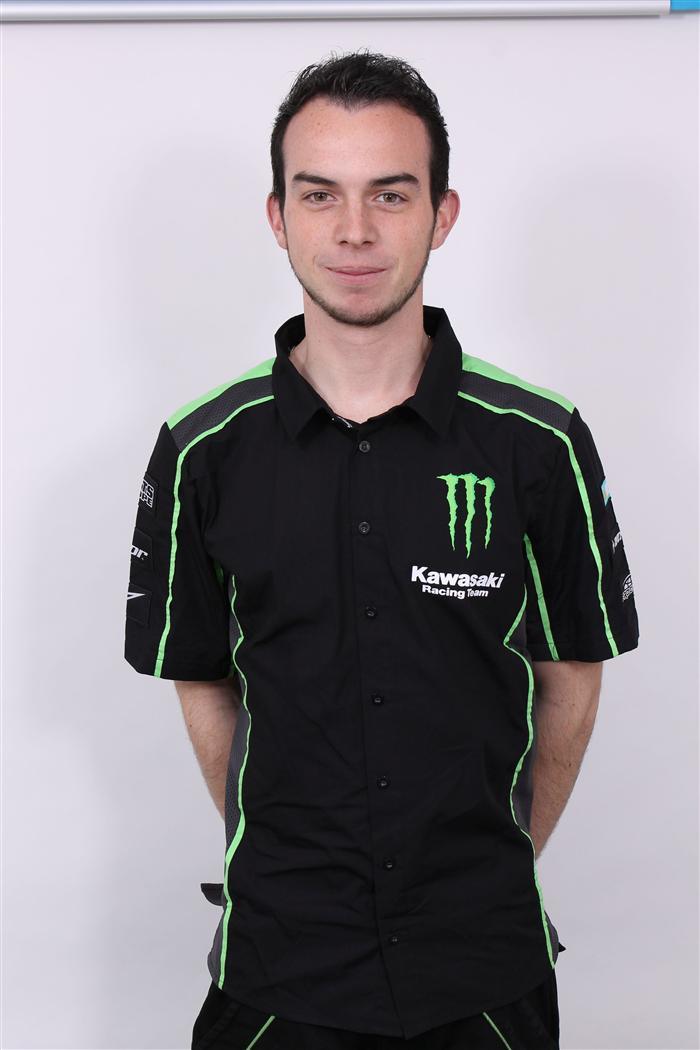 Kawasaki mxgp racing team for Bertrand remy
