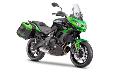 Kit Tourer Plus in regalo scegliendo la Versys 650 my21