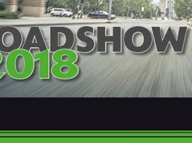Kawasaki Roadshow 2018 Program og mc-liste